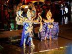 Salah satu peserta Batam Night Carnival dan Pawai Budaya