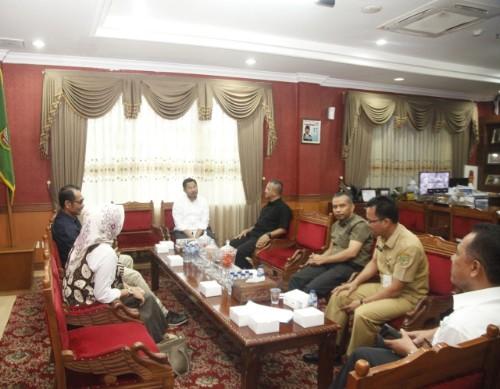 Dprd Kota Batam Terima Kunjungan Komisioner Kpu Kota Batam Wahanaindonews Com