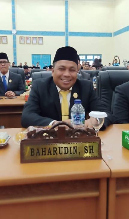 Baharuddin, SH ketua DPRD kabupaten pelelawan